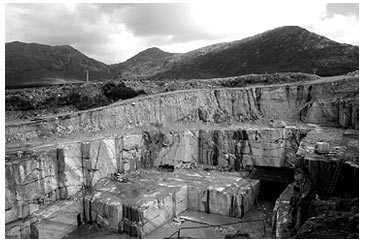 Irish Green Marble - Quarry